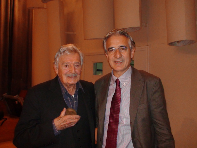 With_Peter_Sculthorpe,_Oviedo,_2009