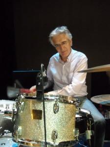 Julio on drums